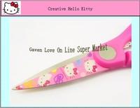 Китай Привет Китти ножницы картон симпатичная ножницы швейные для случая ткань Розовая