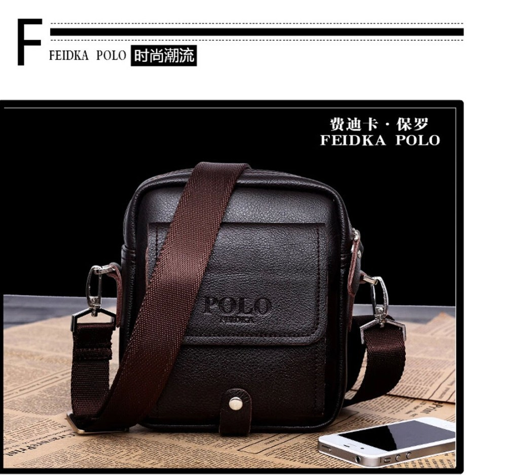Promotion Famous Brand Luxury Brown Men Waist Bag Genuine Leather
