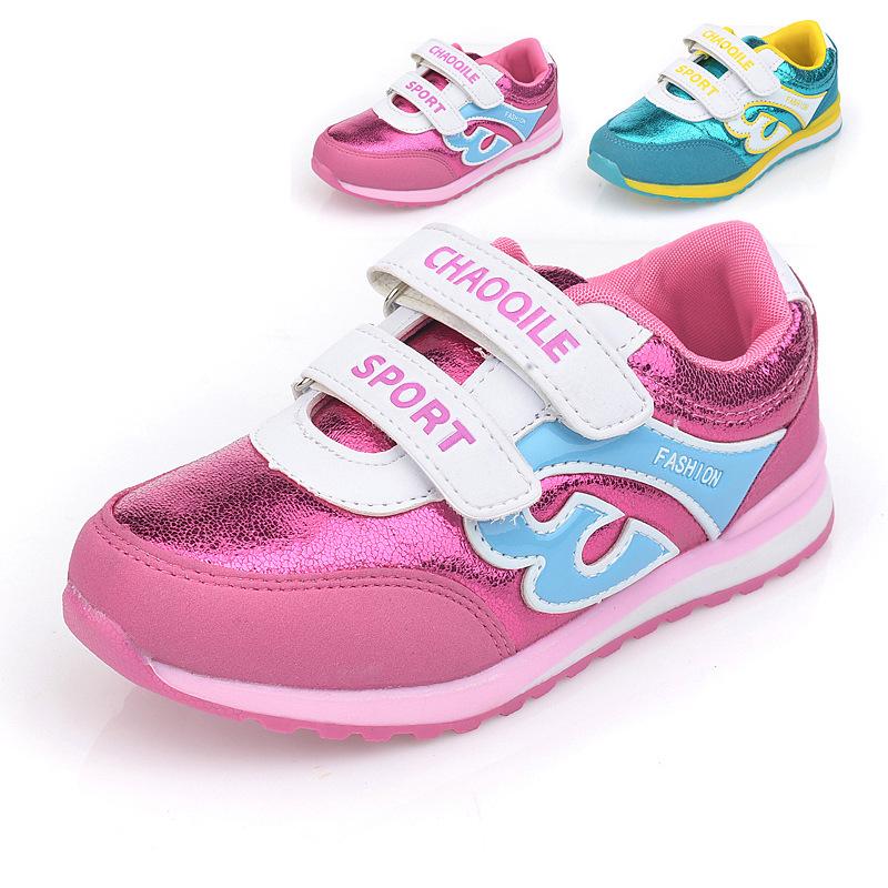 2015 New Children Leisure Shoes Boy Girls Fashion Flat