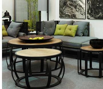 Compra peque as mesas redondas online al por mayor de for Mesas redondas pequenas