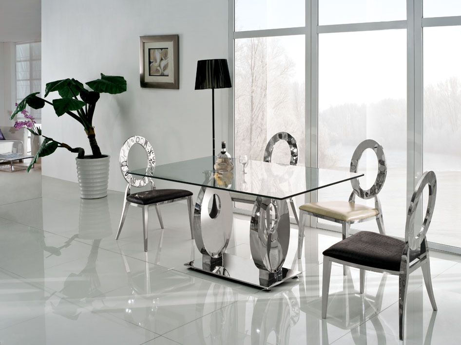 Online Get Cheap Glass Top Dining Table Set Alibaba Group