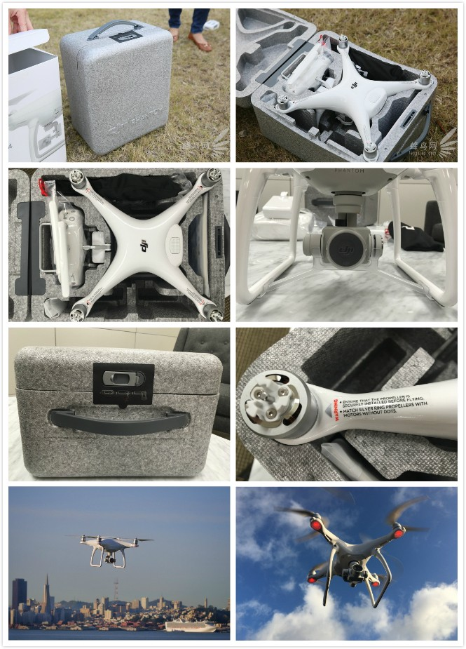 IN STOCK DJI Phantom 4 Quadcopter with Extra Battery4K Camera and 3-Axis Gimbal for Drones Photographer 2016 Newly
