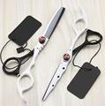 New professional 6 0 inch New hair scissors set cutting shears thinning scissors barber hairdressing scissors