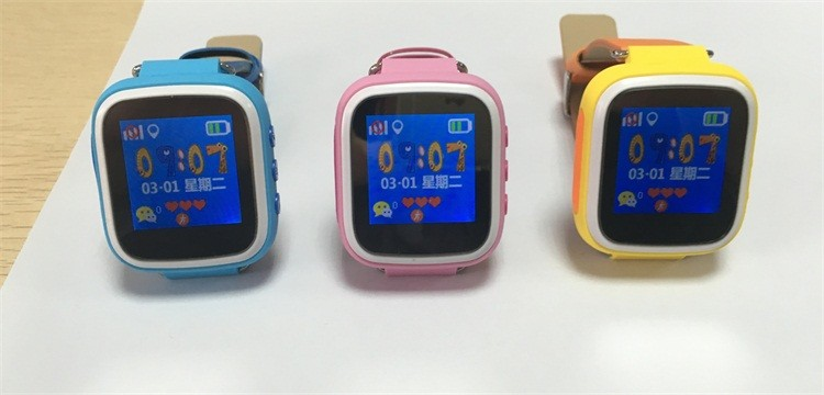 image for Hot Kid GPS Smart Watch Wristwatch SOS Call Location Finder Locator De