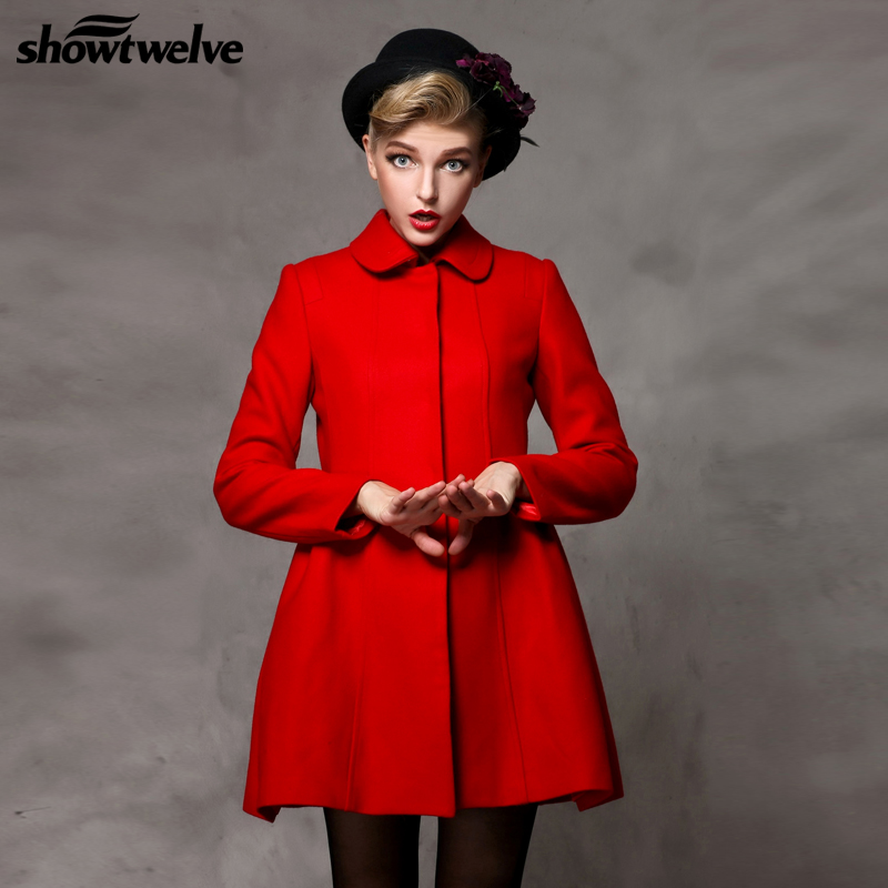 Red womens coat with hood – Novelties of modern fashion photo blog