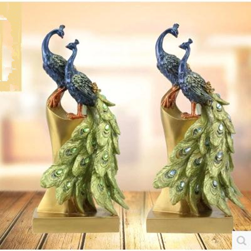 Peacock decorative arts and crafts, desktop decoration products(China (Mainland))