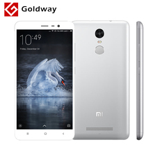 "Original Xiaomi Redmi Note 3 4G LTE Metal Body Fingerprint Mobile Phone MTK Helio X10 Octa Core 5.5"" 1920X1080 13MP 4000mAh(Hong Kong)"