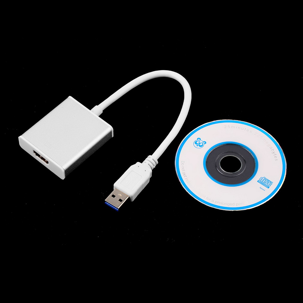 2015  1080P HD USB 3.0 to HDMI Converter Cable Multi Display Graphic Adapter for PC Laptop Projector hot new