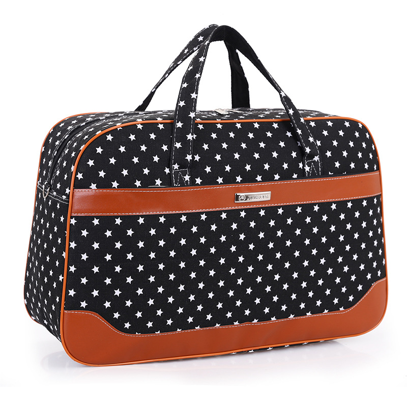 New Arrival Large Capacity Canvas Duffle Bag Hand Luggage Women Travel Bags Female Weekend Travel Bags For Women Sac Polochon(China (Mainland))