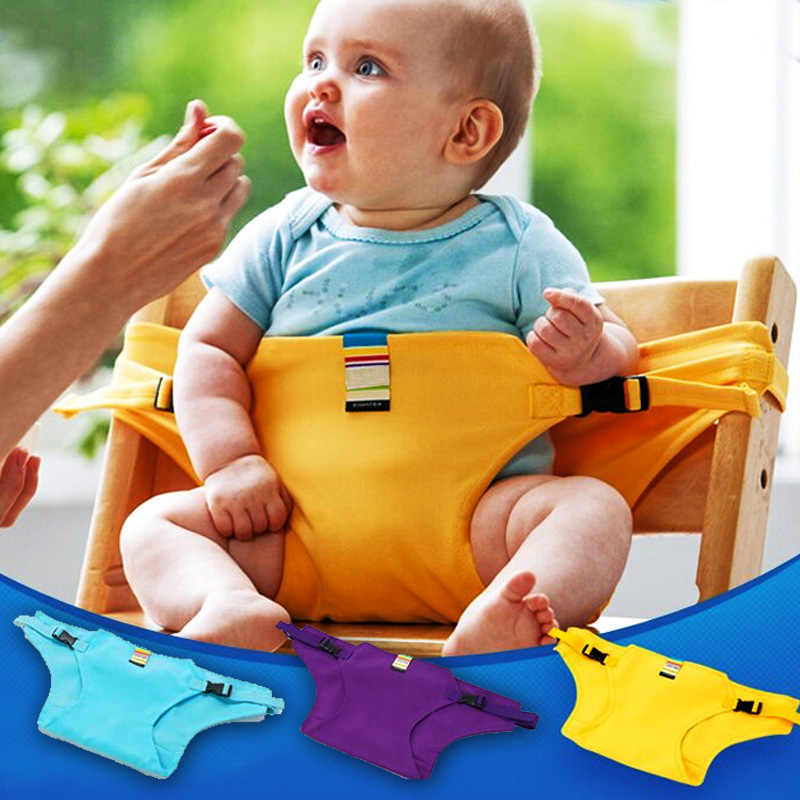 6-24 months Infant Chair Portable Seat Dining Lunch Chair Seat Safety Belt Stretch Wrap Feeding Chair Harness baby Booster Seat(China (Mainland))