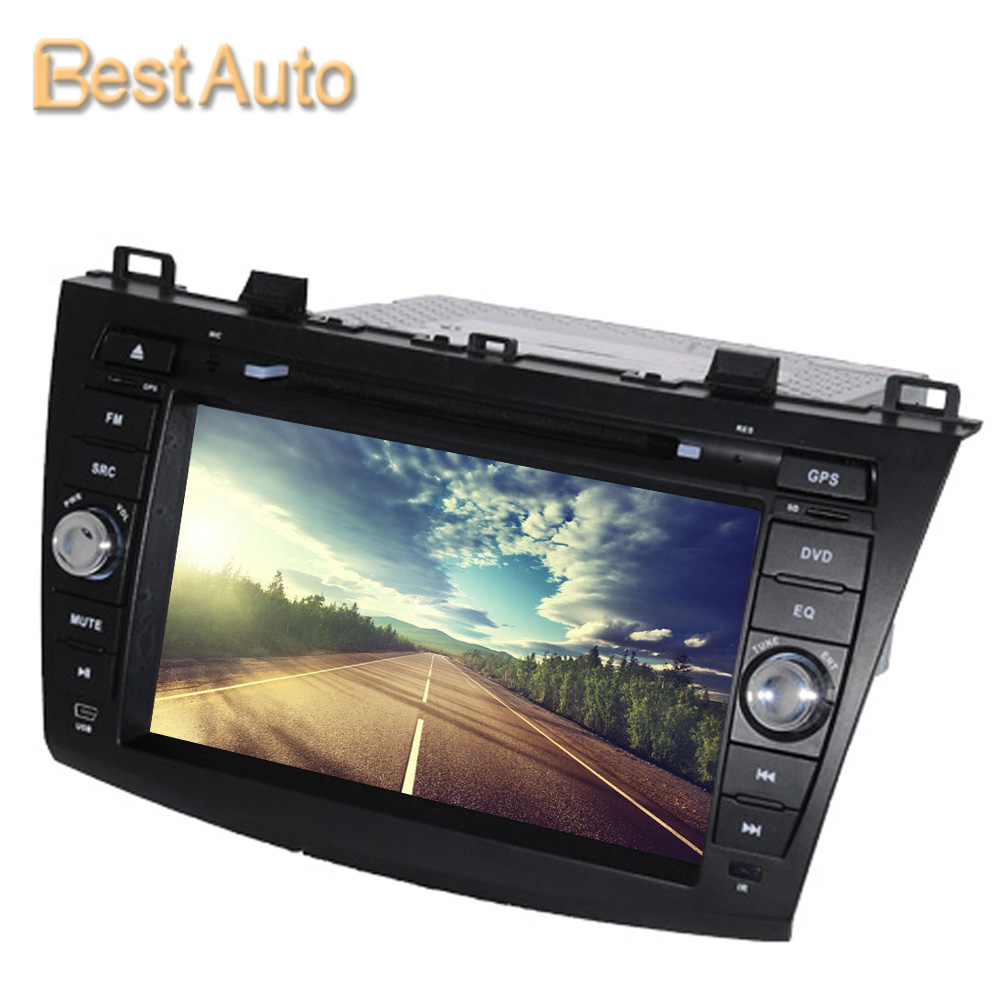 Cheap Price Updated WIN CE 256M DDR 8'' Car DVD GPS Navigation for New Mazda 3 2010-2012 Support Multi-language Menu(China (Mainland))