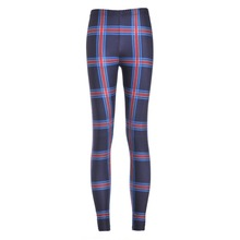 Summer styles Sexy new arrival 2016 Women Sport Pants Womens Trousers Fashion Tartan Navy Toasties printing Pant Capris Fitness