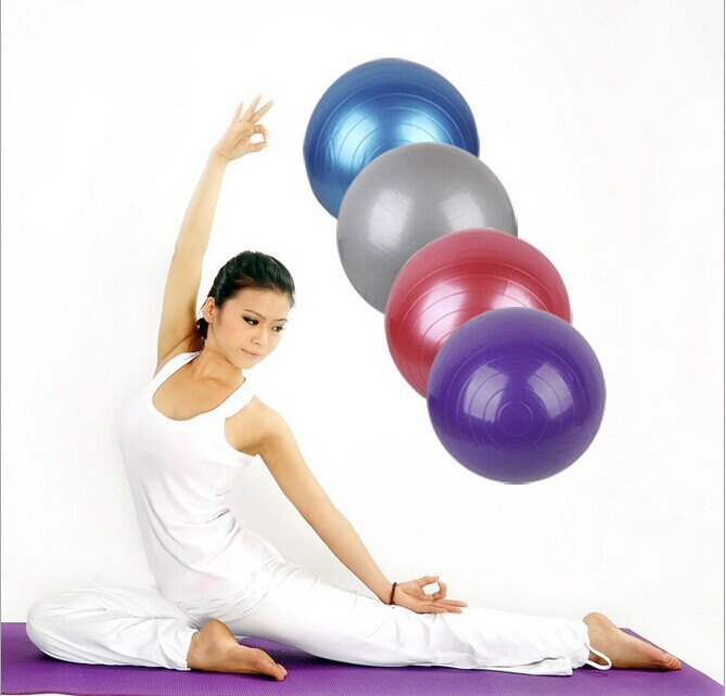 Exercise Fitness Aerobic 85cm Ball for GYM Yoga ball Pilates Pregnancy Birthing Swiss fitness ball Sporting Goods(China (Mainland))