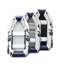 Wear-resistant laminated ship thick plywood crash bar 2-4 person fishing inflatable boat rubber boat with high quality(China (Mainland))