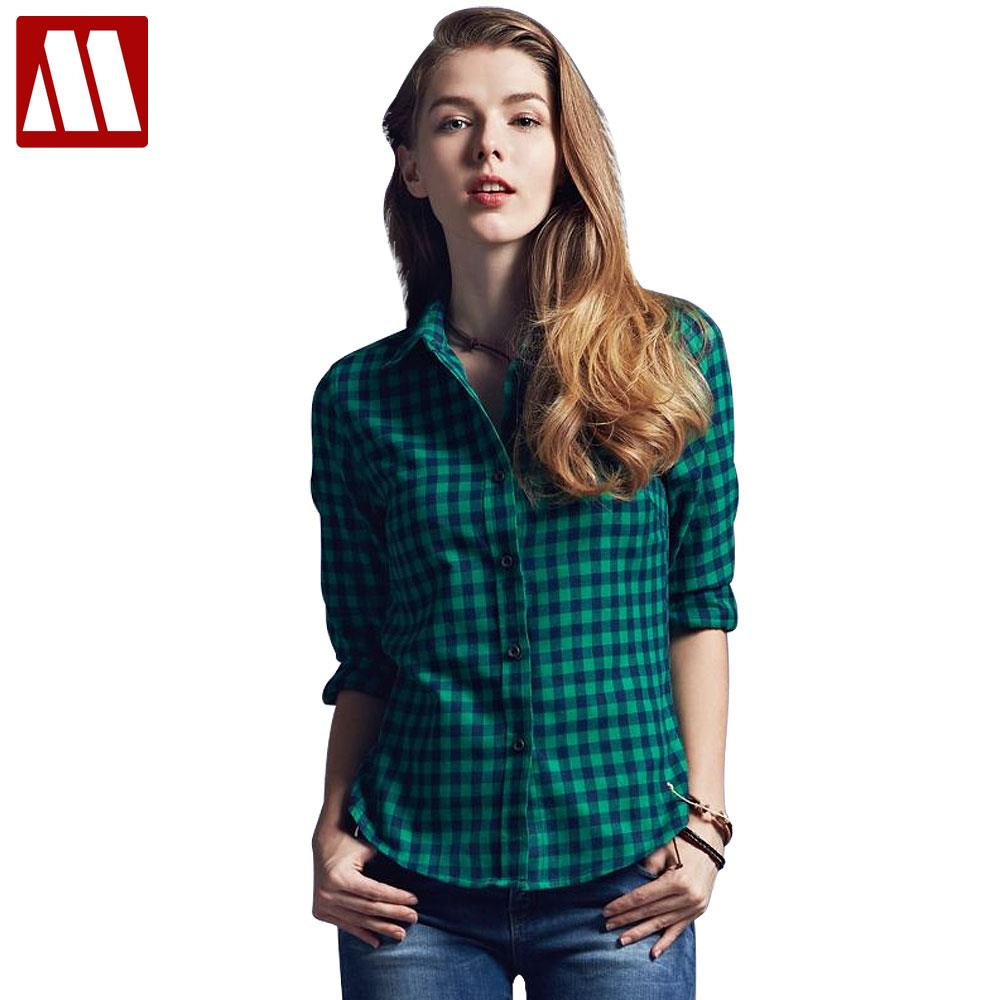 2016 Spring New Fashion Casual Lapel Plus Size Blouses