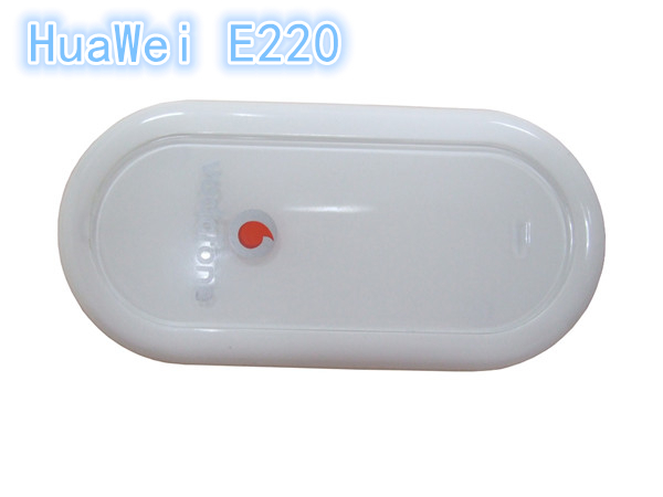 New Original Unlocked HUAWEI E220 3G 2100MHz WLAN HSDPA USB MODEM 7.2M Win7 Android(China (Mainland))