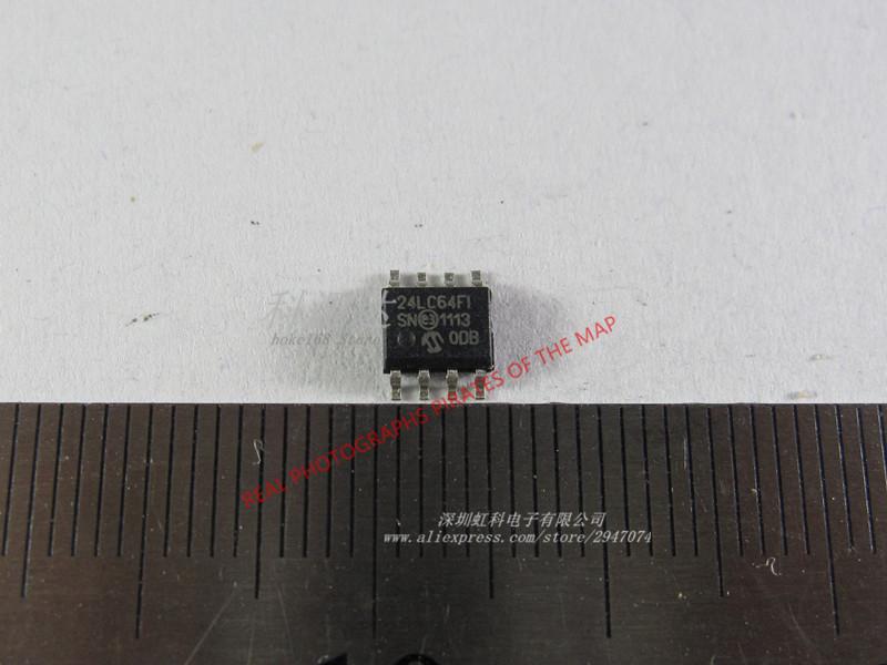 Free shipping 5psc/lot 24LC64B-I/SN SOP-8 24LC64BI 24LC64 24LC64I 64K I2C Serial EEPROM Best quality sop8(China (Mainland))
