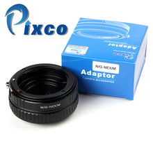 Buy Pixco Adjustable Focusing Macro Infinity L.ens Mount Adapter Suit Nik.on F Mount G Lens Sony E Mount Camera NEX for $33.09 in AliExpress store