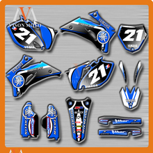 Buy Customized Team Graphics & Backgrounds Decals 3M Stickers YAMAHA YZF250 YZF450 YZ250F YZ450F 2006 2007 2008 2009 06 07 08 09 for $85.50 in AliExpress store