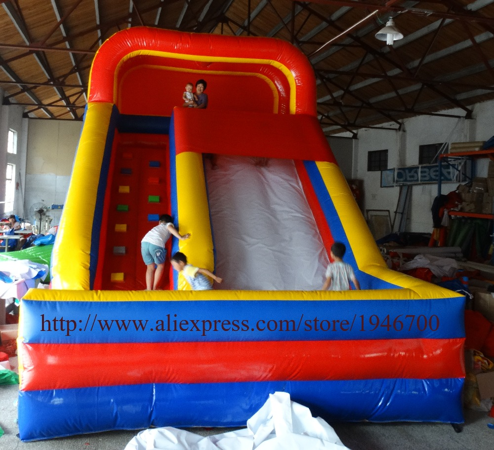 giant bouncy slide / inflatable slides carousel ride/ Summer product Commercial Inflatable Slide For Sale(China (Mainland))