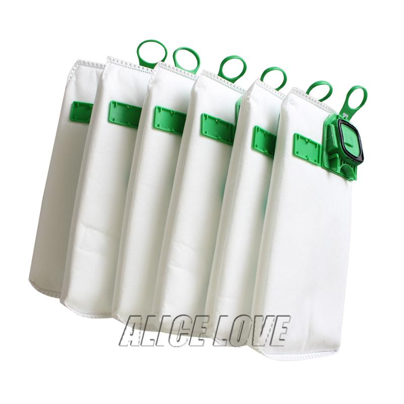 6pcs high efficiency dust filter bag replacement for VK140 VK150 Vorwerk garbage bags FP140 Bo rate kobold Vacuum cleaner(China (Mainland))