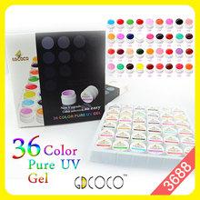 #3688 GDCOCO Nail Art Gel UV 36 Colors Ezflow Kit - CANNI NAIL ART store