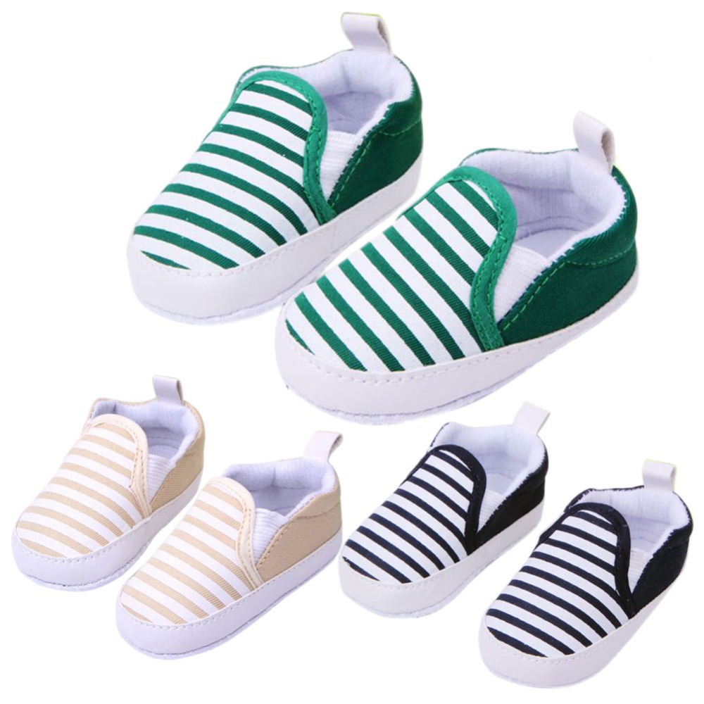 Fashion Spring&Autumn Baby Shoes Striped Antiskid Infant Toddlers Shoes Good quality Baby Shoes