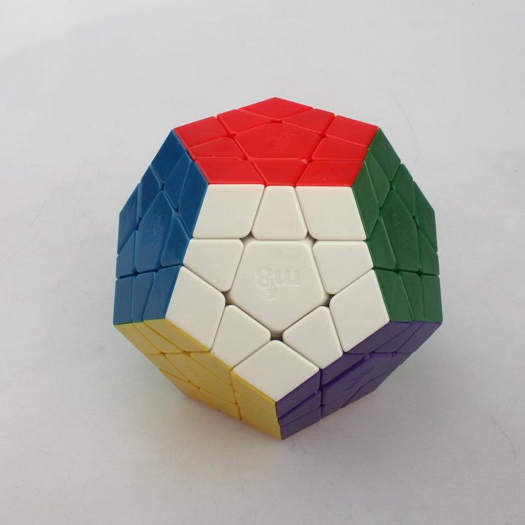 MF8 Super Size Stickerless Megaminx Cube 90mm(China (Mainland))