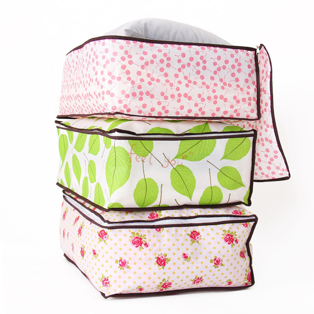 Foldable Dust-proof Storage Bag Blanket Closet Quilt Sweater Bedding Organizer(China (Mainland))