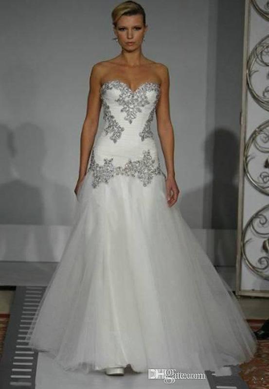 Personalizado Pnina Tornai A linha de vestidos de casamento com Blink