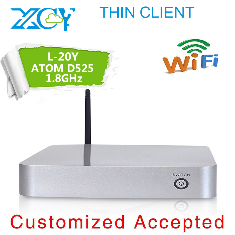 XCY L-20Y D525 dual-core 1.8ghz 4g ram 32g ssd Highest cost effective Wireless Green Computer, Assembling computers(China (Mainland))