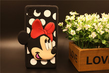 Buy Case Sony Xperia M5 Z5 M4 Aqua Dual E2303 Phone Bag 3D Cartoon Bow Minnie Mouse Shape Soft Silicon Back Cover Phone Housing for $3.17 in AliExpress store