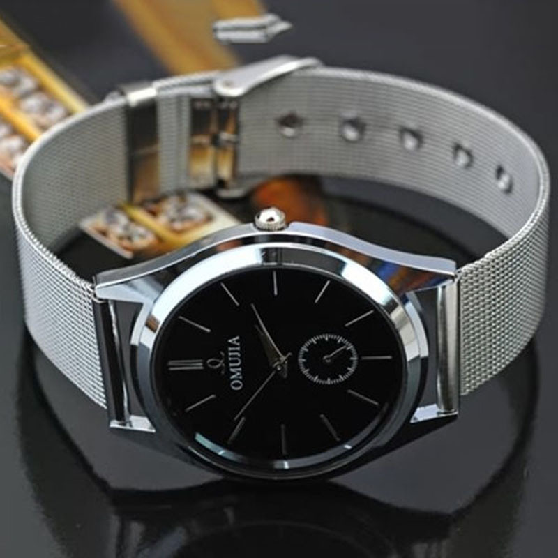2016 New Fashion Luxury Mens wrist Watch Stainless Steel Band Quartz Wrist Watches For Special Gift Wholesale dropshipping<br><br>Aliexpress