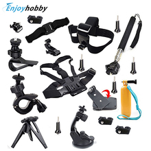 Travel Bundle Set Professional Accessories Palo Selfie Stick Monopod Tripod For Sony Action Cam HDR AS20 AS15 AS100V AS30V AZ1