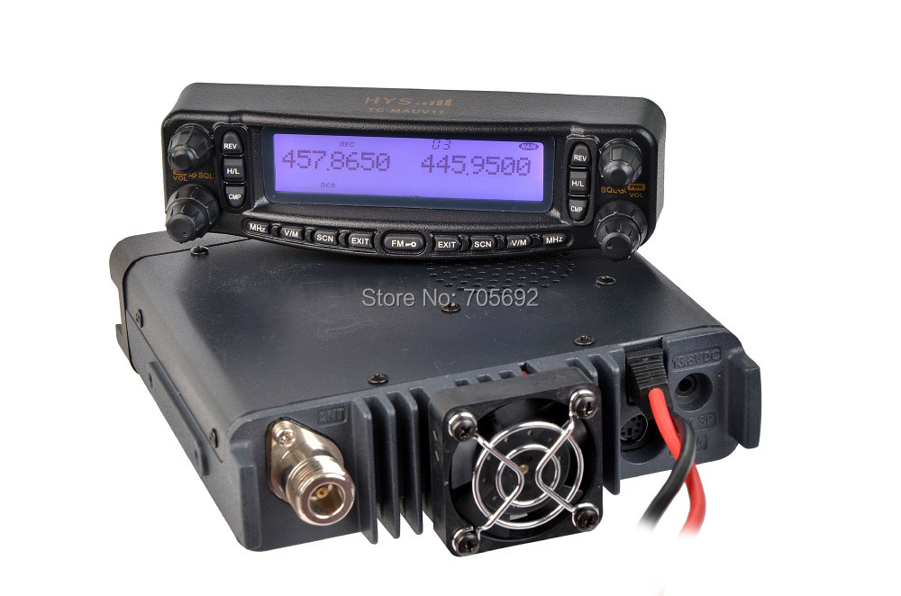 Good Design !!! VHF UHF Mobile Car Radio Cross Band DTMF Microphone TC-MAUV11(China (Mainland))