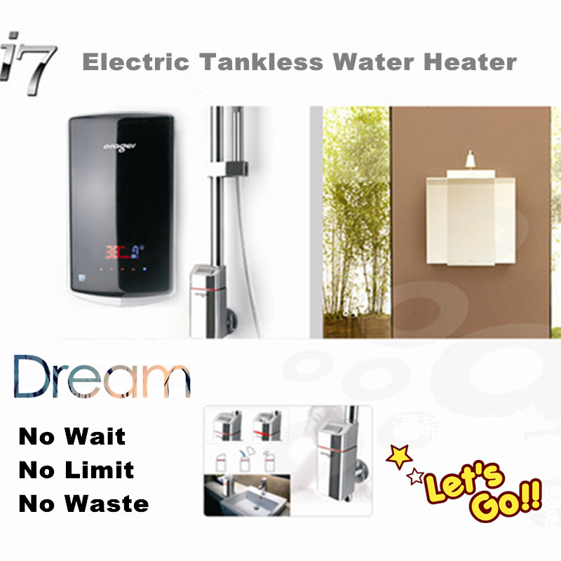 Buy electric instant hot water heater for 4 bathroom tankless water heater