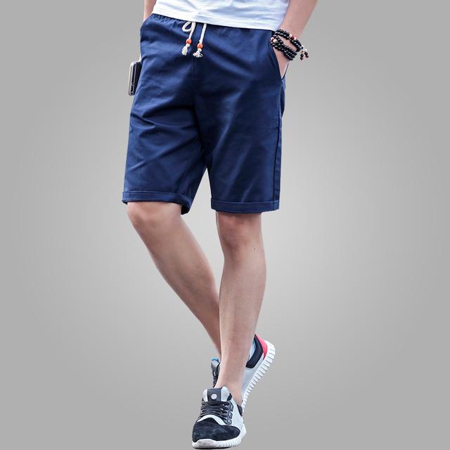 2016 последним летом свободного покроя шорты мужчин хлопка мода стиль мужские шорты ...