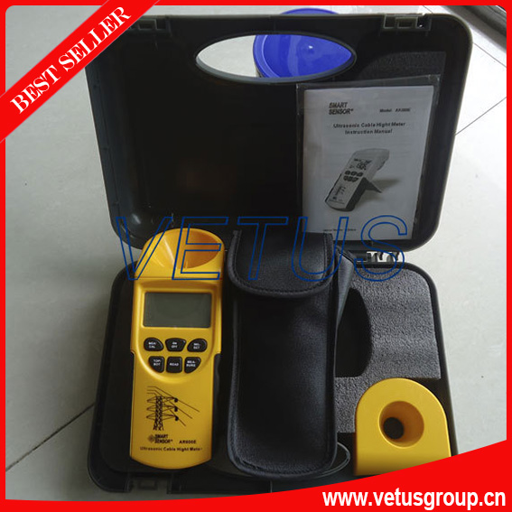 Measuring Range( Height 3-23m ,Plane 3-15m) Ultrasonic Cable Height Meter AR600E free shipping of Fedex, DHL, TNT, EMS<br><br>Aliexpress