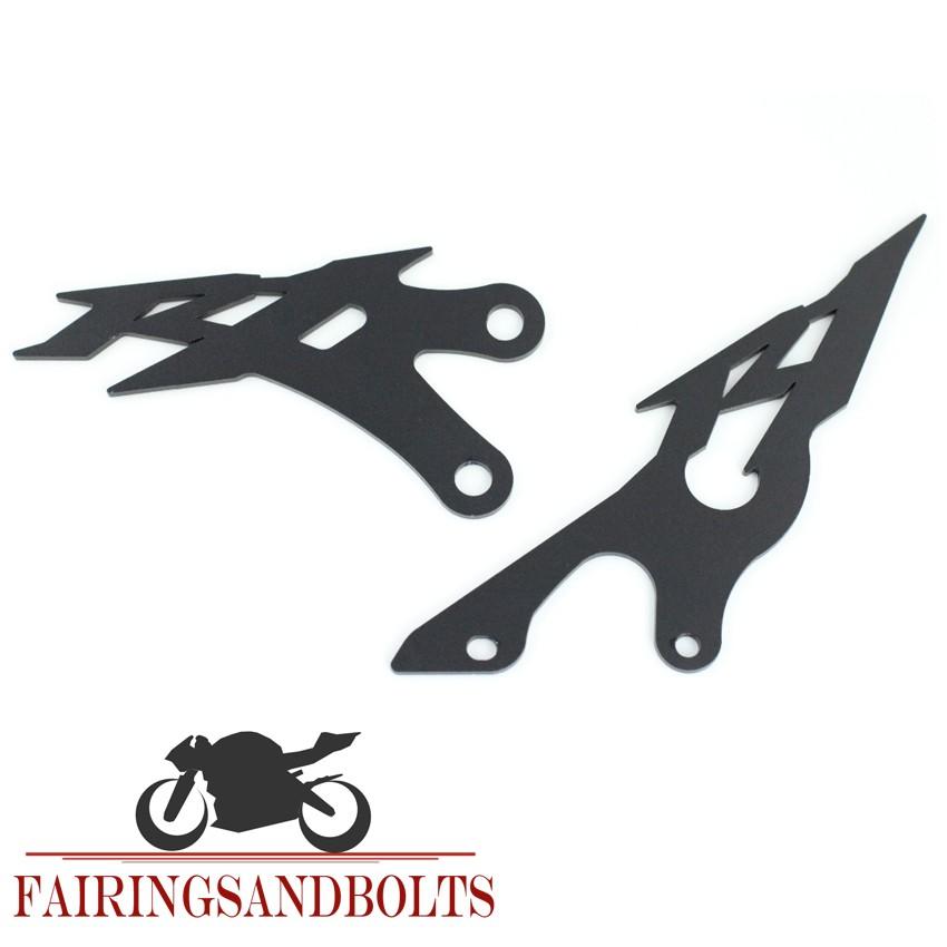 CNC Aluminum Foot Peg Heel Plates Guard