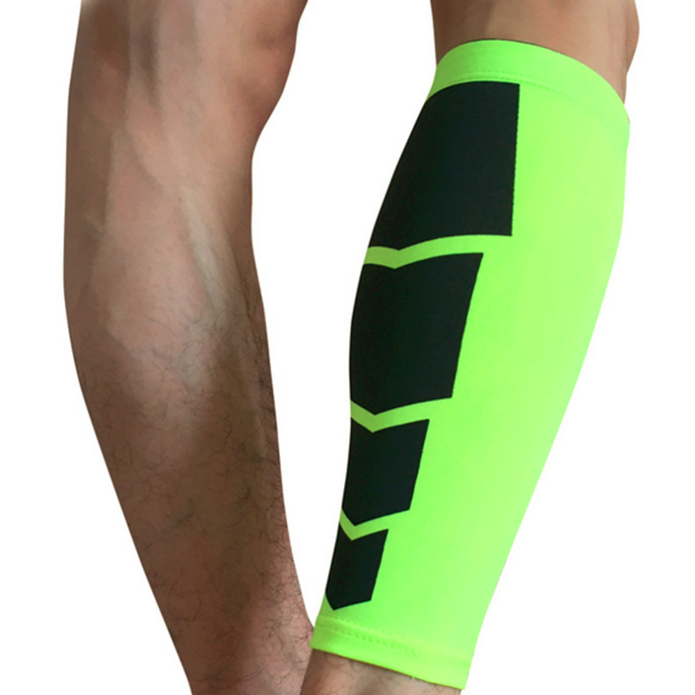 1pair football Golf Basketball Sport Bicycle Calf Leg Brace Support Stretch Sleeve Compression Exercise Leggings set(China (Mainland))
