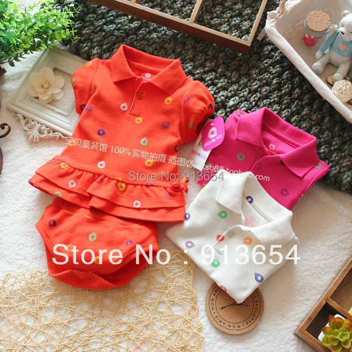 Free shipping,Sale new 2013 fashion baby clothing summer baby girl suit baby t-shirt skirt top shorts 2pcs set casual kids hoody<br><br>Aliexpress