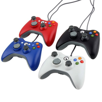 Wired USB Game Pad Joypad Controller For MICROSOFT For Xbox For 360 Slim & PC P4PM