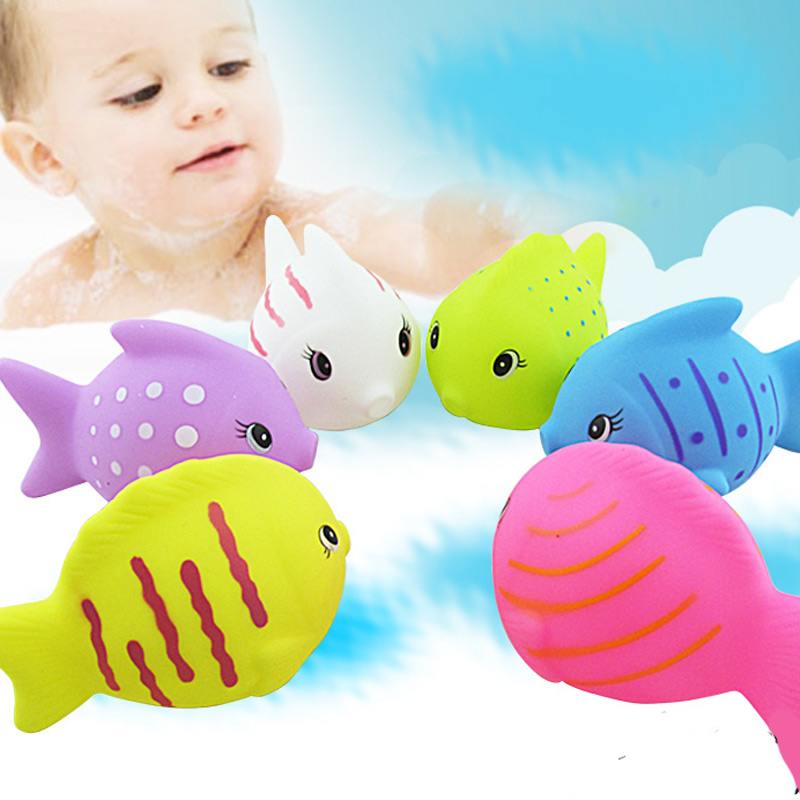 fish baby bath toy,munchkin flamingo inflatable flamingo pool rubber ducky water table beach gadget sandpit yookidoo aqua play(China (Mainland))