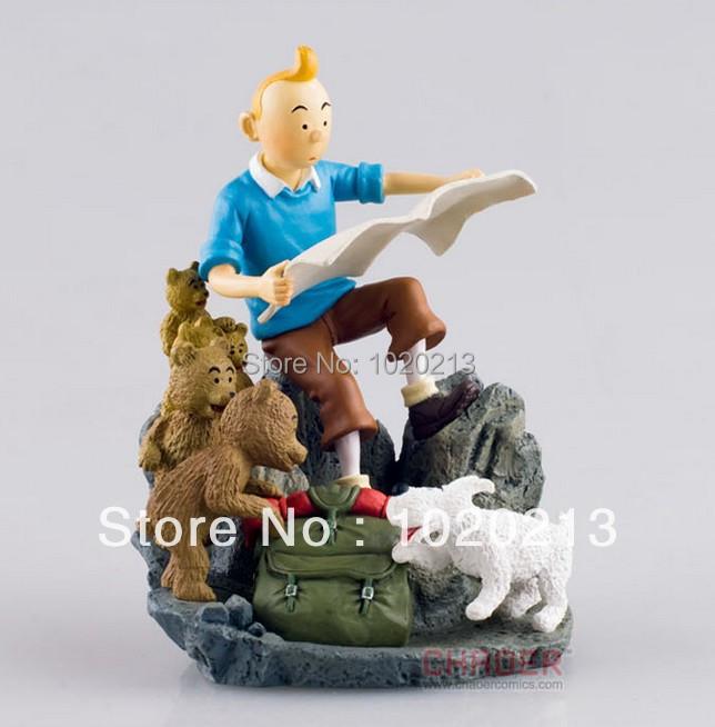 1X The Adventures of Tintin Figure Set DESTINATION MOON New