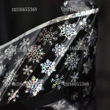 Nail Art Transfer Wrap Decal All kinds of beautiful snow flake Decor Nail Art Art Transfer