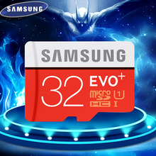 SAMSUNG EVO+  Micro SD 32G SDHC 80mb/s Grade Class10 Memory Card C10 UHS-I TF/SD Cards Trans Flash SDXC 64GB 128GB free shipping(China (Mainland))