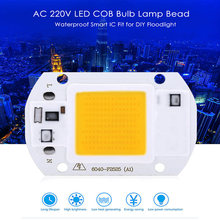 Buy Lightme AC 220V 20W 30W 50W 4000LM LED COB Bulb Waterproof Smart IC Fit DIY Floodlight Spotlight Cold White Warm White for $2.95 in AliExpress store