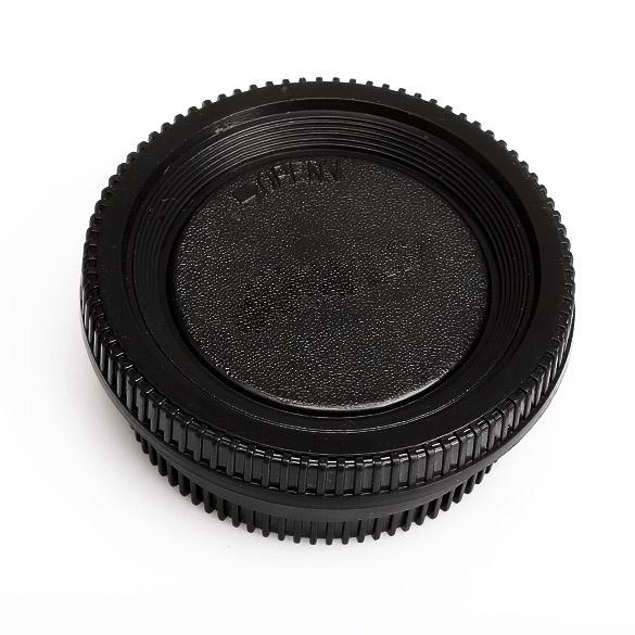 Microfiber Cloth Lens Cap Center Pinch for Canon EOS 90D + Lens Cap 43mm