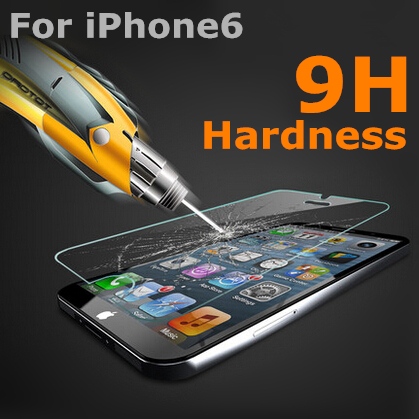 [ Special Offer ] Hot Sale New 9H Tempered Glass 0.3MM Screen Protector For iPhone 6 Screen Protector(China (Mainland))