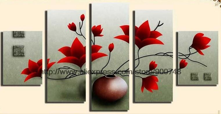 Popular abstract painting ideas buy cheap abstract for Bathroom canvas painting ideas